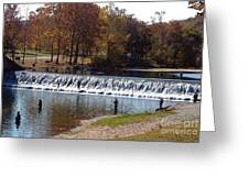 Bennett Springs Spillway Greeting Card