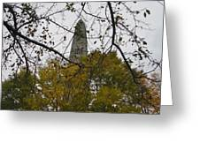 Bennington Monument In Vermont Greeting Card