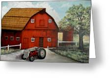 Bens Barn Greeting Card