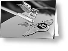 Bentley Hood Ornament 5 Greeting Card
