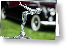 Bentley Hood Ornament Greeting Card