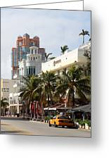 Bentley Hotel Miami Greeting Card