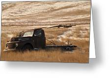Bereft On The Plains Greeting Card