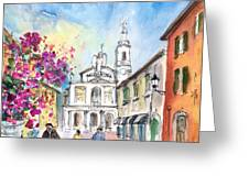 Bergamo Lower Town 01 Greeting Card