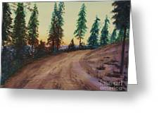 Bergebo Forest Greeting Card