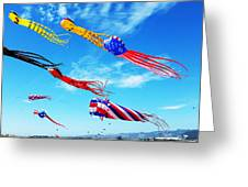 Berkeley Kite Festival 1 Greeting Card