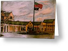 Berks County Jail Main Entrance Greeting Card