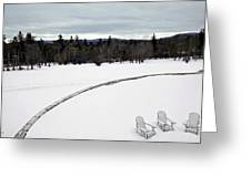 Berkshires Winter 2 - Massachusetts Greeting Card