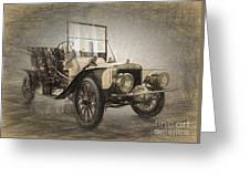 Berliet Double Phaeton Greeting Card