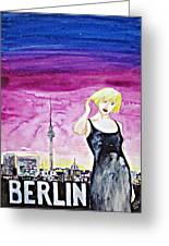 Berlin 2009 Greeting Card