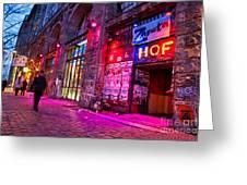 Berlin Street Greeting Card