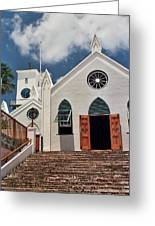 Bermuda Church Greeting Card
