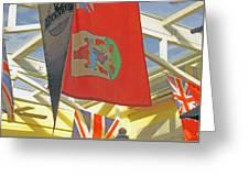 Bermuda Dockyard Greeting Card