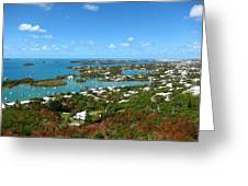 Bermuda From Gibbs Hill Lighthouse Greeting Card