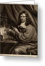 Bernard Vaillant Flemish, 1632 - 1698, Cornelis Mayer Greeting Card