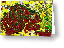 Berries Art Greeting Card