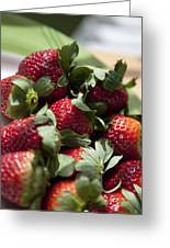 Berries In The Kitchen Greeting Card