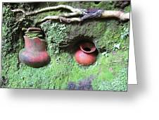 Berriles Pots Greeting Card