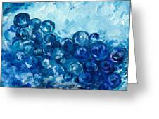 Berry Bubbles Greeting Card