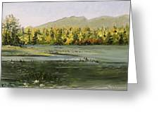 Berry Pond Greeting Card