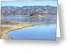 Berryessa Lake Greeting Card