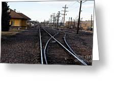 Berthoud R R Station Greeting Card