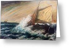Berts Boat Greeting Card