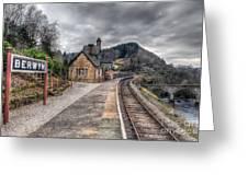Berwyn Railway Station Greeting Card