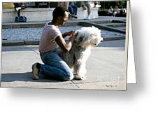 Best Friends On Dupont Circle Greeting Card
