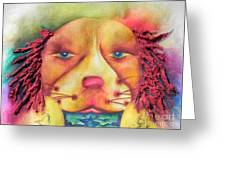 Best In Show Dog A Tude One Greeting Card
