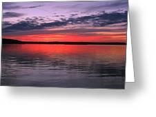 Bethany Beach Sunset Greeting Card