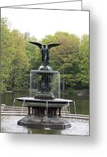 Bethesda Fountain Central Park Nyc Greeting Card