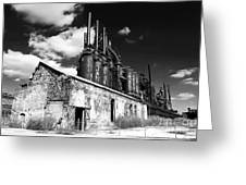 Bethlehem Steel Greeting Card by John Rizzuto