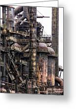 Bethlehem Steel Series Greeting Card by Marcia Lee Jones