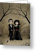 Betrothed Greeting Card