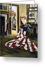 Betsy Ross (1752-1836) Greeting Card