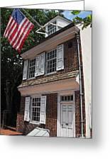 Betsy Ross House Greeting Card