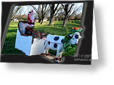 Betsy The Red Nose Moo-cow Greeting Card