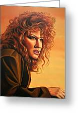 Bette Midler Greeting Card