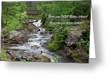 Better Things Ahead Greeting Card
