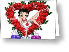 Betty Boop 4 Greeting Card