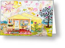 Betty's House Greeting Card