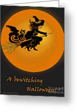 Betwitched Greeting Card
