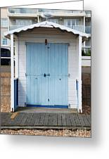 Bexhill Beach Hut Greeting Card