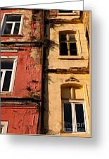 Beyoglu Old Houses 02 Greeting Card