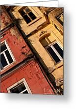 Beyoglu Old Houses 03 Greeting Card