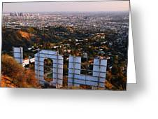 Beyond Hollywood Greeting Card