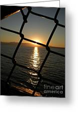 Beyond The Chains Greeting Card