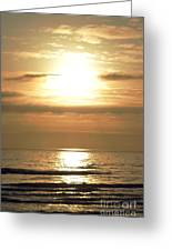 Beyond The Horizon Greeting Card by Sheldon Blackwell