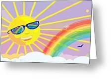Beyond The Rainbow Greeting Card